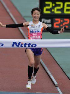 前田彩里選手大阪マラソン