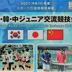 第25回 日韓中ジュニア交流 競技会 2017  概要 ( 開催日程 、 コース  、 競技種目 等)
