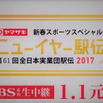ニューイヤー駅伝 2018 (第62回)概要について(開催日程、コース、出場チーム、歴代記録等)